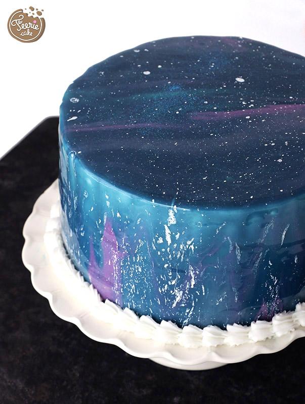 gâteau galaxie