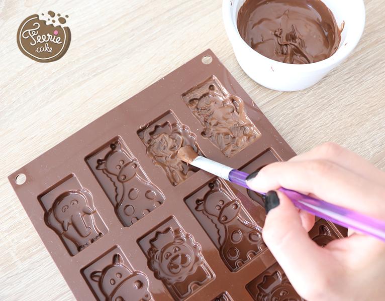 tierische kinder schokolade safari mit f erie cake. Black Bedroom Furniture Sets. Home Design Ideas