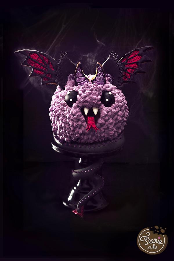 Monstertorte für Halloween von Féerie Cake