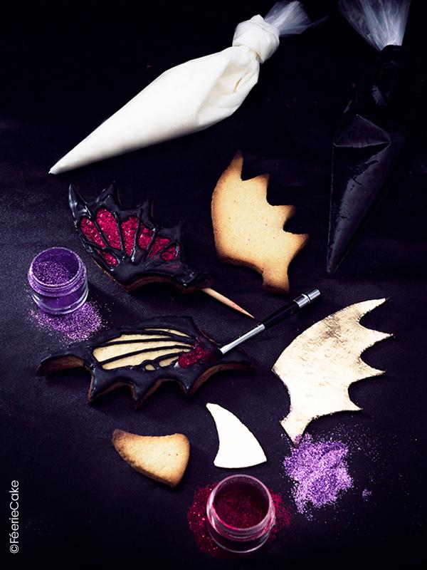 Le gâteau monstre poilu et rigolo d'Halloween 6