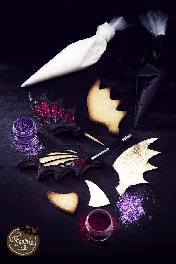 Dekoration Monstertorte für Halloween von Féerie Cake