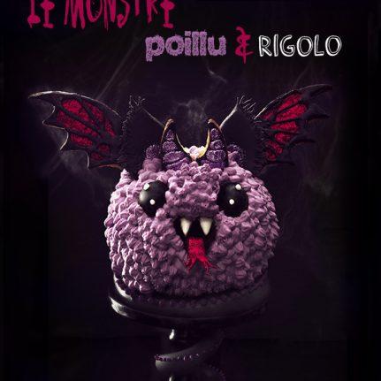 Le gâteau monstre poilu et rigolo d'Halloween !