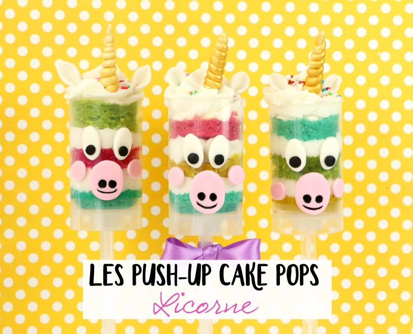 push up cake pops titre