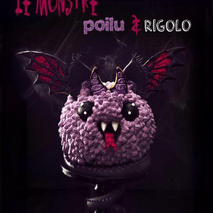 Gâteau Monstre Poilu Et Rigolo Dhalloween Féerie Cake