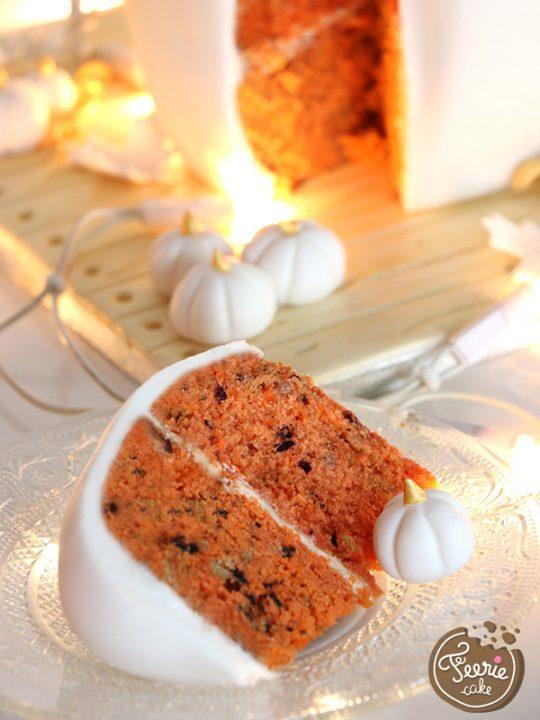 gâteau citrouille immaculée 1