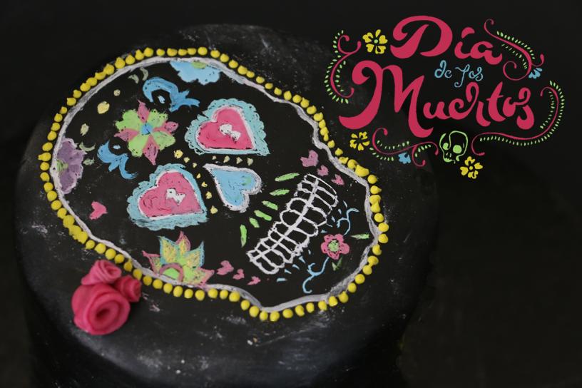 Dia de los Muertos Torte