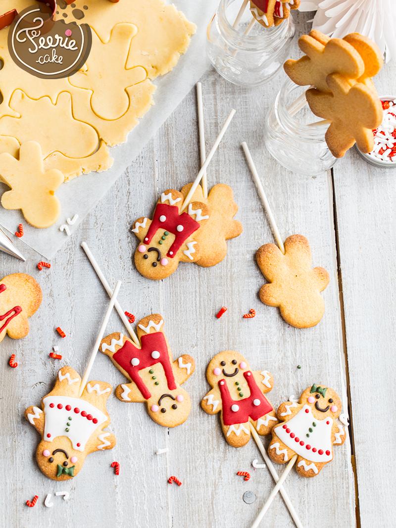 Cookies pop façon bonhomme pain d'épices 3