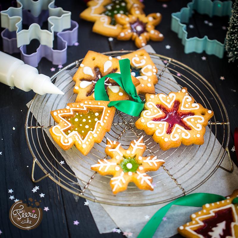 biscuits vitraux décoration