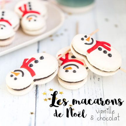 Les macarons de Noël