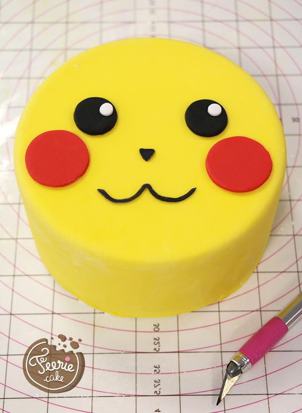 Motivtorte Pikachu Die Leichte Anleitung Von Feerie Cake
