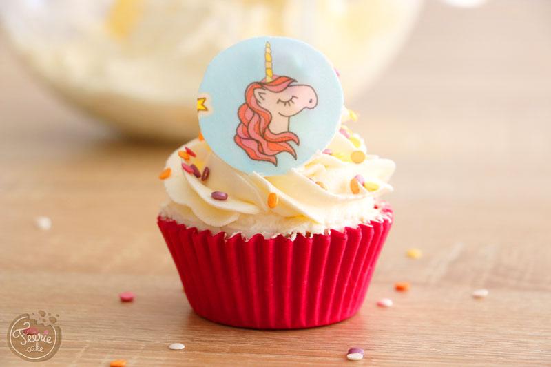 Cupcake mit buttercreme