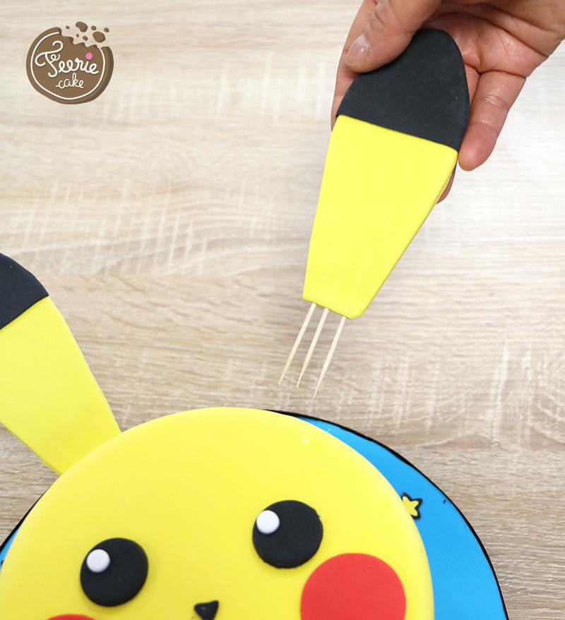 gâteau pikachu oreille