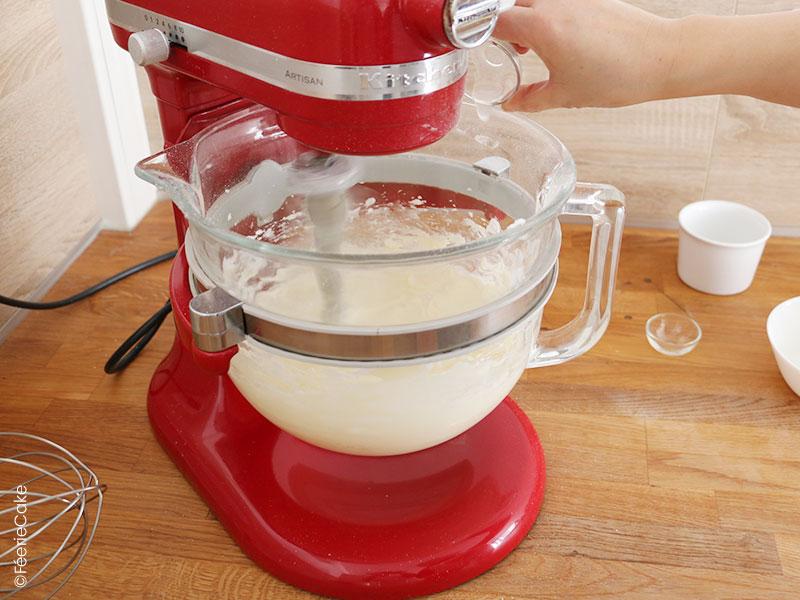 Recette de la buttercream americaine (crème au beurre)