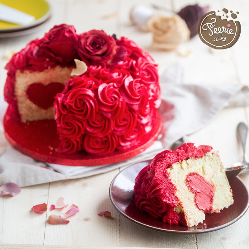 gâteau Saint-Valentin part