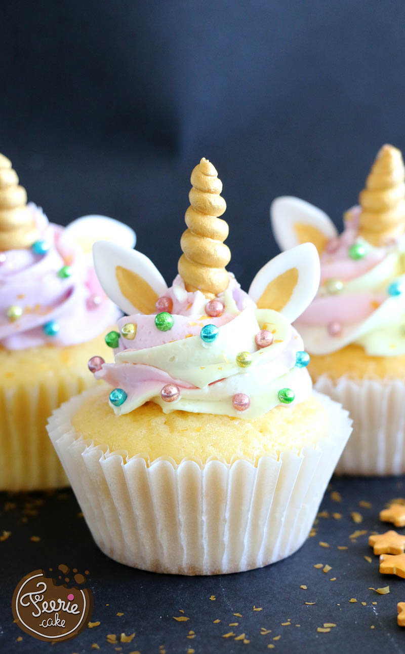 Cupcakes Licorne Le Tutoriel Magique Feerie Cake Blog