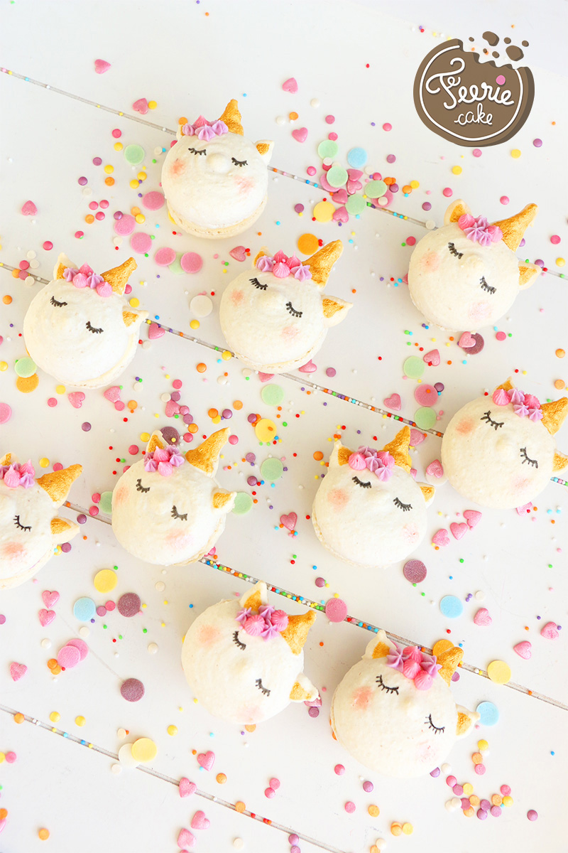 macarons licorne recette facile