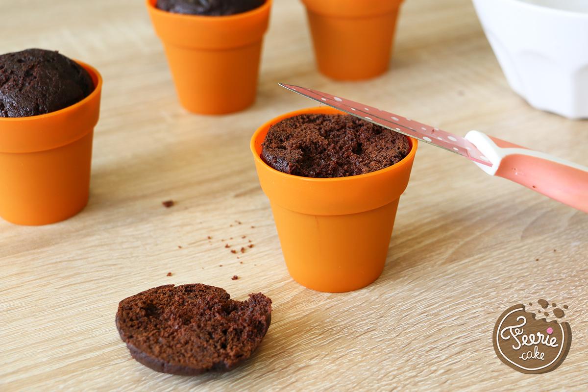 Der Oster-Cupcakes-Gemüsegarten