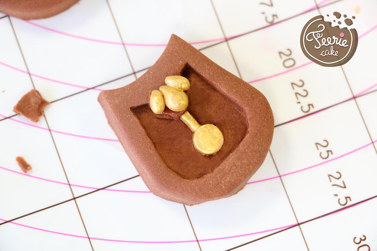 modelages en pâte à sucre bigben corps