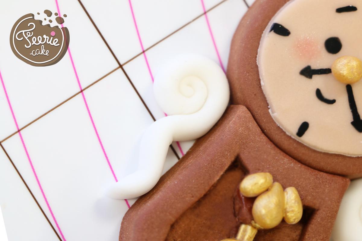 modelages en pâte à sucre bigben bras