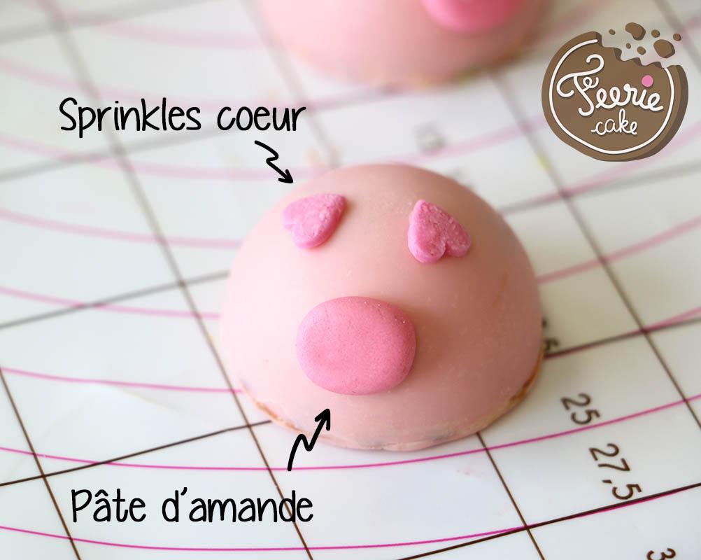 chocolats de pâques cochon modelage