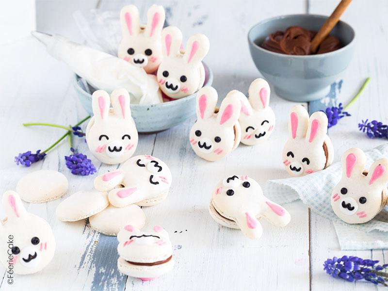 Les macarons de Pâques : passion et chocolat au lait