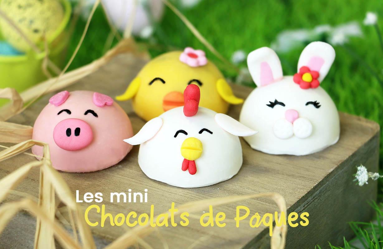 chocolats de pâques mini
