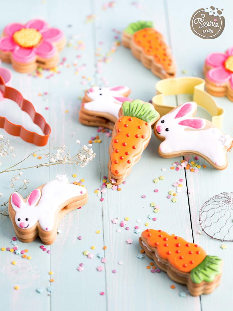 biscuits piñata aux sprinkles