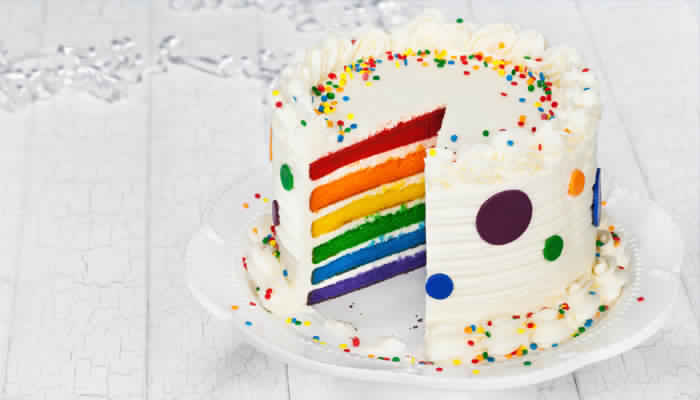 so wird ihr regenbogenkuchen mit sicherheit ein erfolg. Black Bedroom Furniture Sets. Home Design Ideas