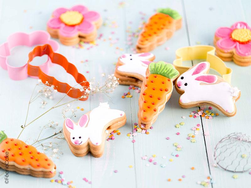 Recette des biscuits piñata sur le thème de Pâques