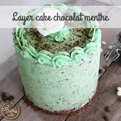 layer cake chocolat menthe