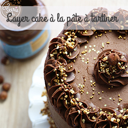 layer cake pâte à tartiner
