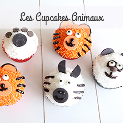 Cupcakes animaux
