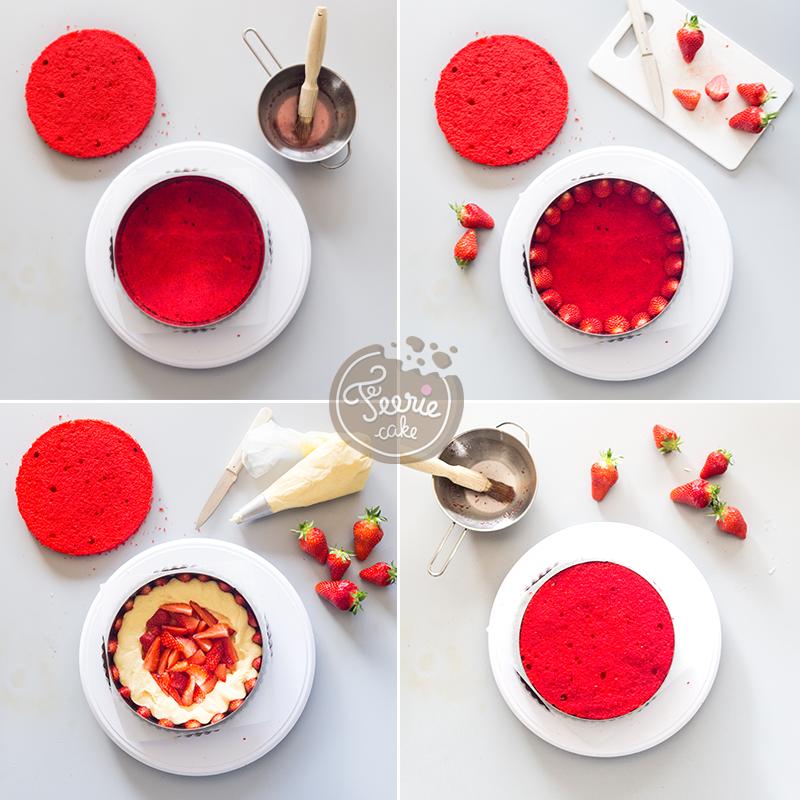 Die Erdbeer-Sahnetorte