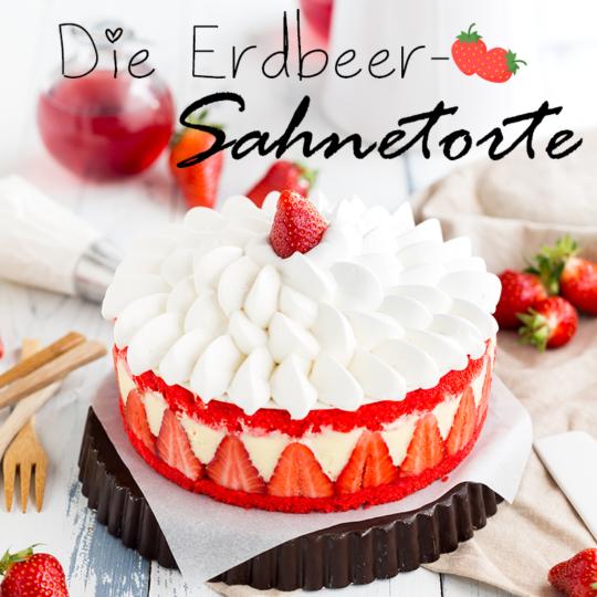 erdbeer-sahnetorte