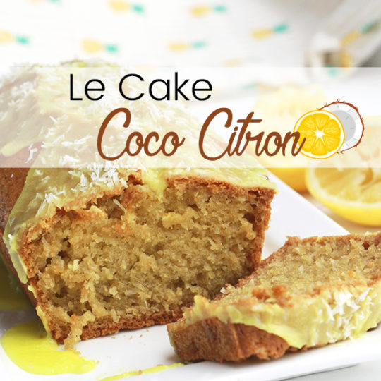 Cake coco citron