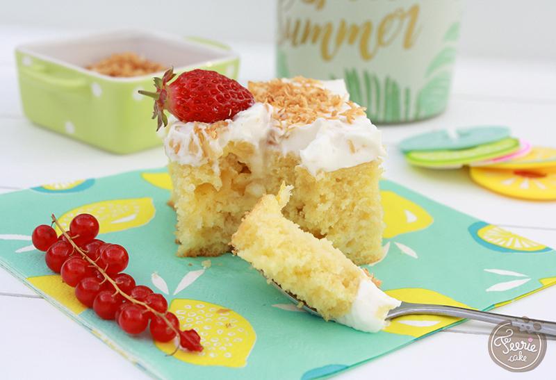 pop cake ananas coco