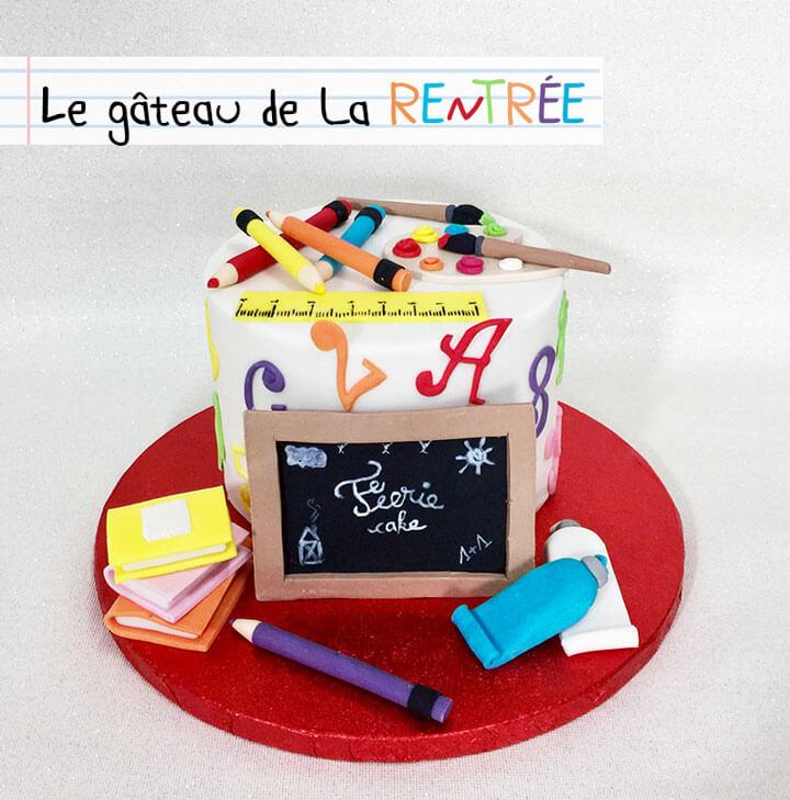 Le gâteau de la rentrée des Little Cake Sisters