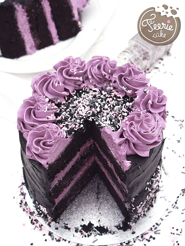 Layer cake purple rain