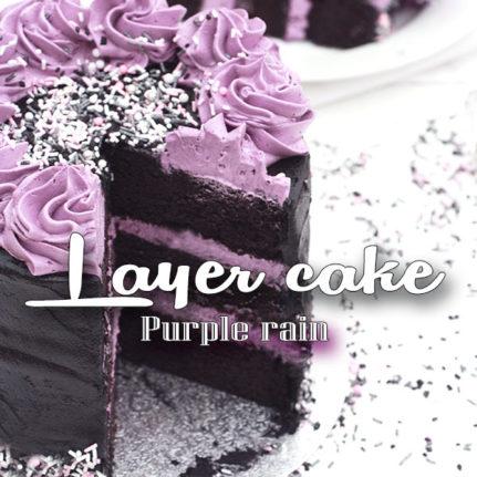 Layer cake «purple rain»
