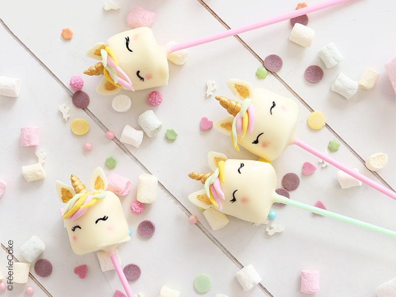 Recette des cake pops licorne
