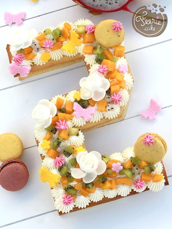 Recette Du Number Cake Le Gateau Qui Devoile Votre Age Feerie Cake