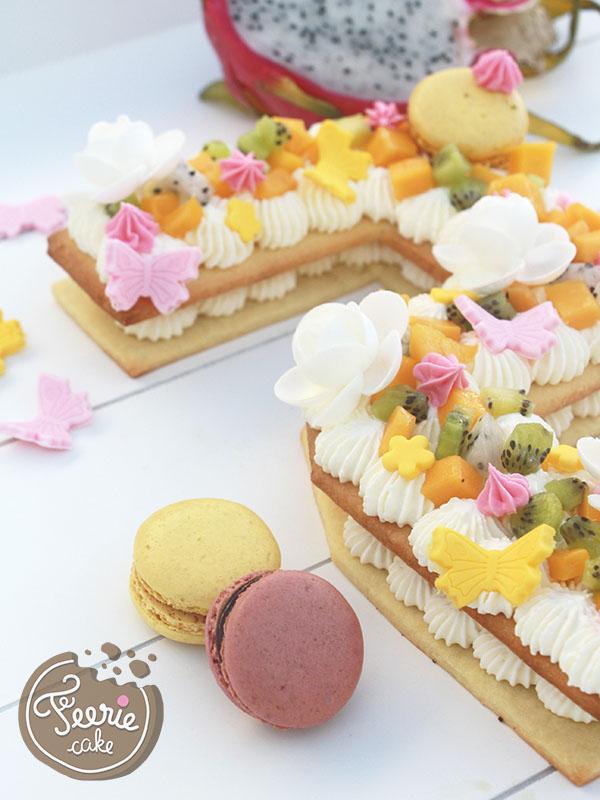 Recette Du Number Cake Le Gâteau Qui Dévoile Votre âge Féerie Cake