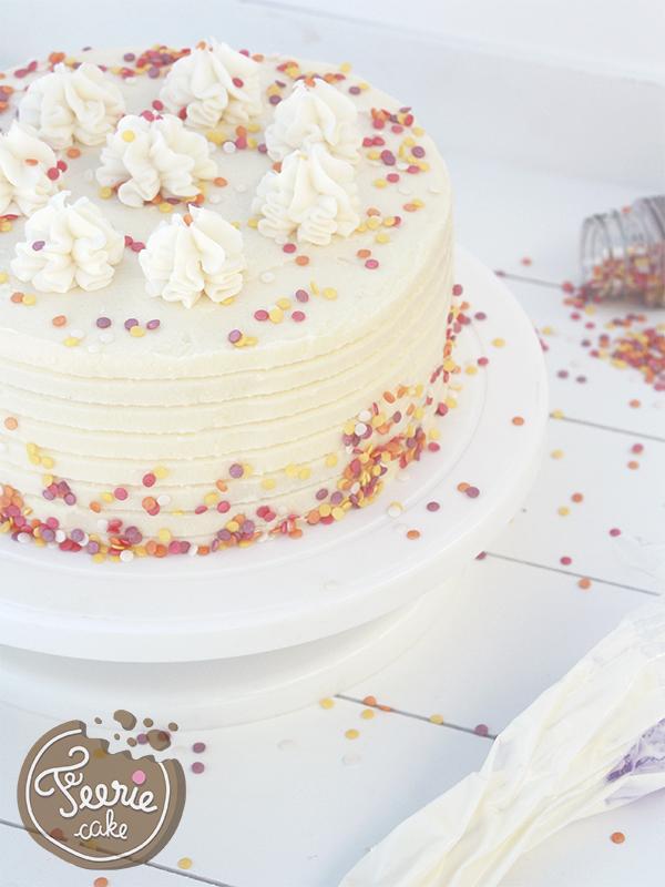 Layer cake à la vanille