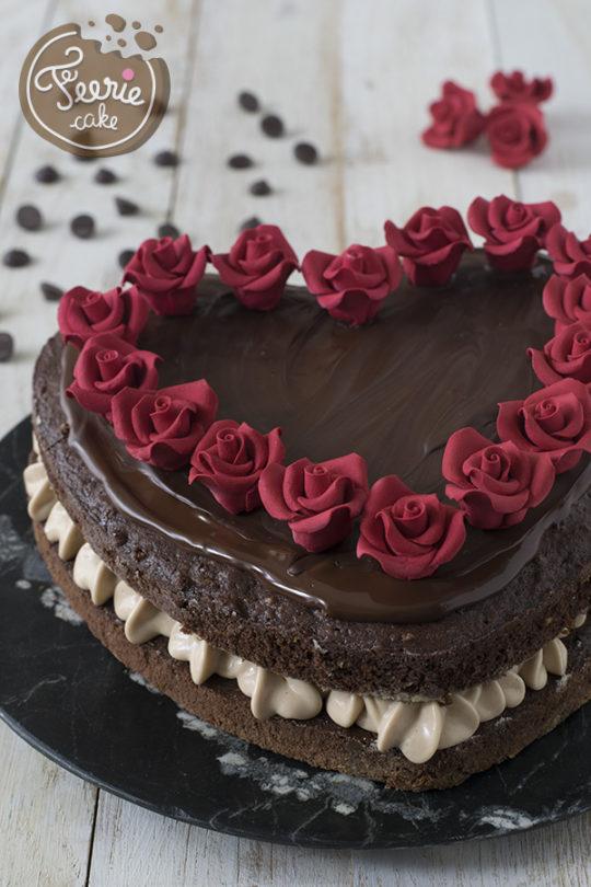 Layer cake chocolat/noisettes