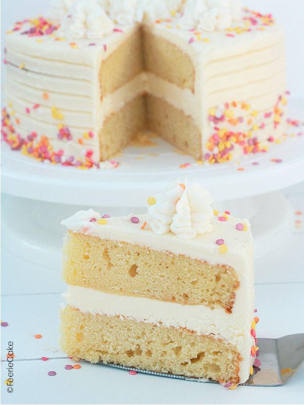 Gâteau : Layer Cake printanier idéal pour Pâques