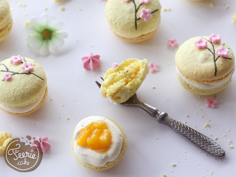 recette des macarons mangue passion