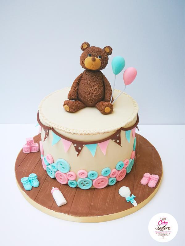 Gâteau Nounours de la Baby Shower