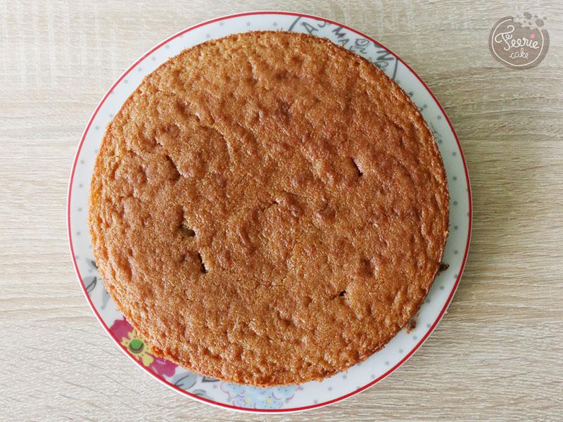 Gâteau entremets chocolat, noisettes et caramel