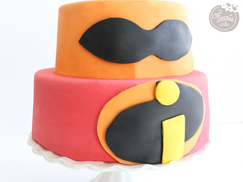 Gâteau pour la sortie du film Les Indestructibles 2