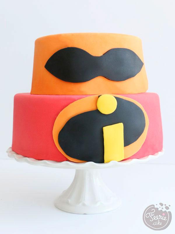 Gâteau en pâte à sucre pour la sortie du film Les Indestructibles 2